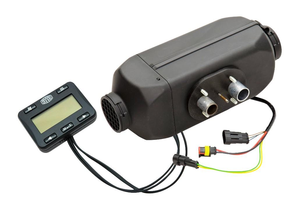 Nezávislé naftové topení ATESO ALFA, BREEZE IV, WIND IV k vytápění obytných vozidel či přívěsů