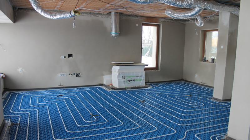 Spolehlivé podlahové topení