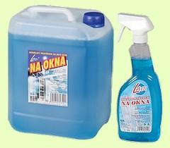 Kvalitní přípravky na mytí a čištění oken, skel či skleněných ploch pro domácí i profesionální použití