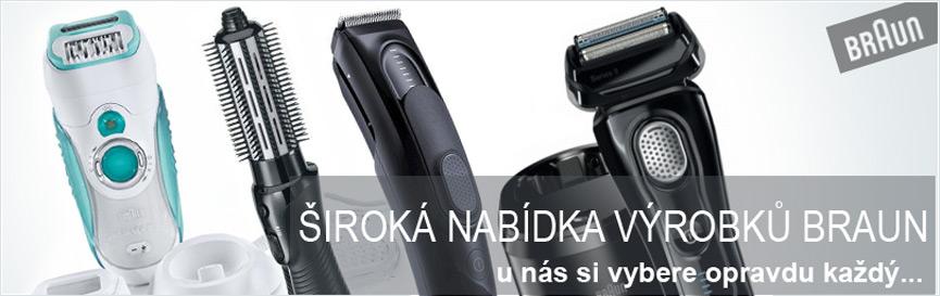 Dámské depilátory a epilátory, kvalitní přístroje péče o vlasy značky Braun - prodej Praha