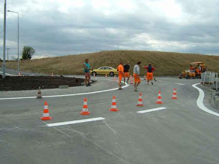 Uzavírky částečné úplné objízdné trasy dopravní značení Kutná Hor