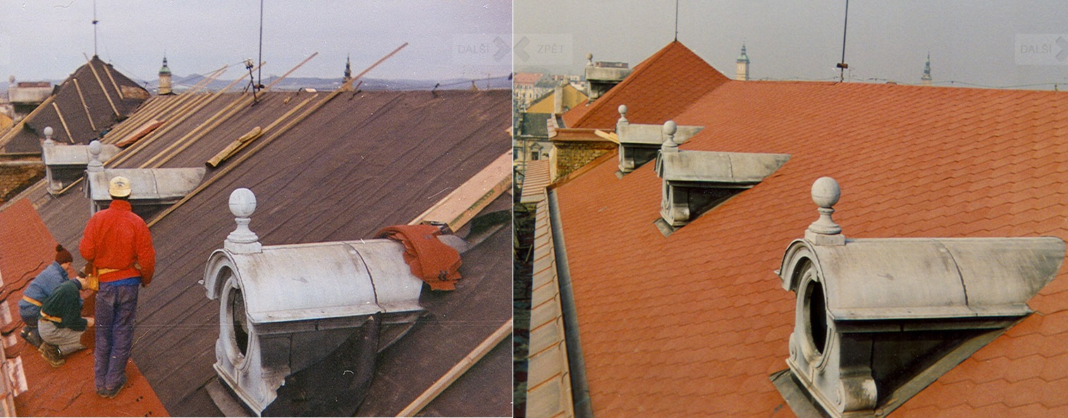 přestavby střech Zlínský kraj