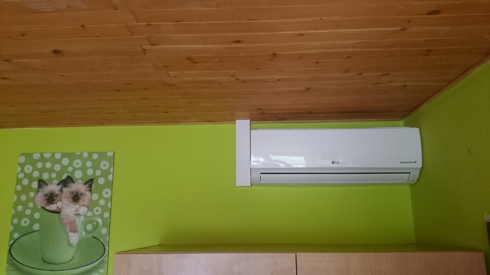 montáž klimatizace LG - Zlínský kraj