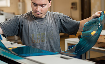 Fotopolymerplatten - Herstellung von FTL Druckstöcken für Flexodruck Tschechische Republik