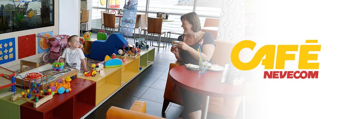 Kavárna nejen pro klienty autoservisu