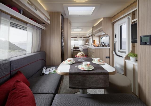 Pronájem - půjčovna luxusně vabyvených karavanů