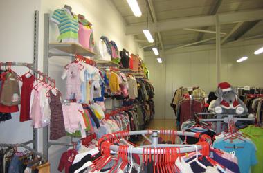 Použitý textil maloobchod