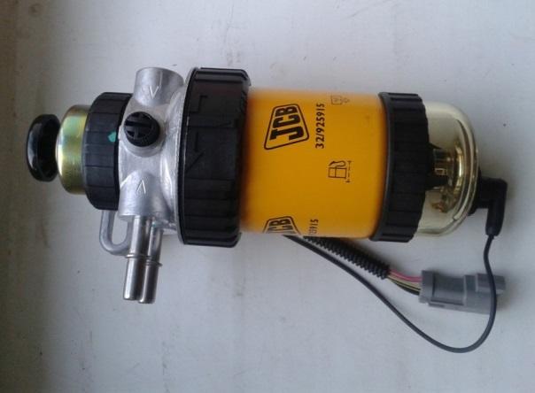 palivový filtr pro stroje JCB