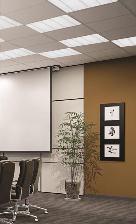 Kancelárske svietidlo s vysoko účinným optickým systémom VIRGO PROFI