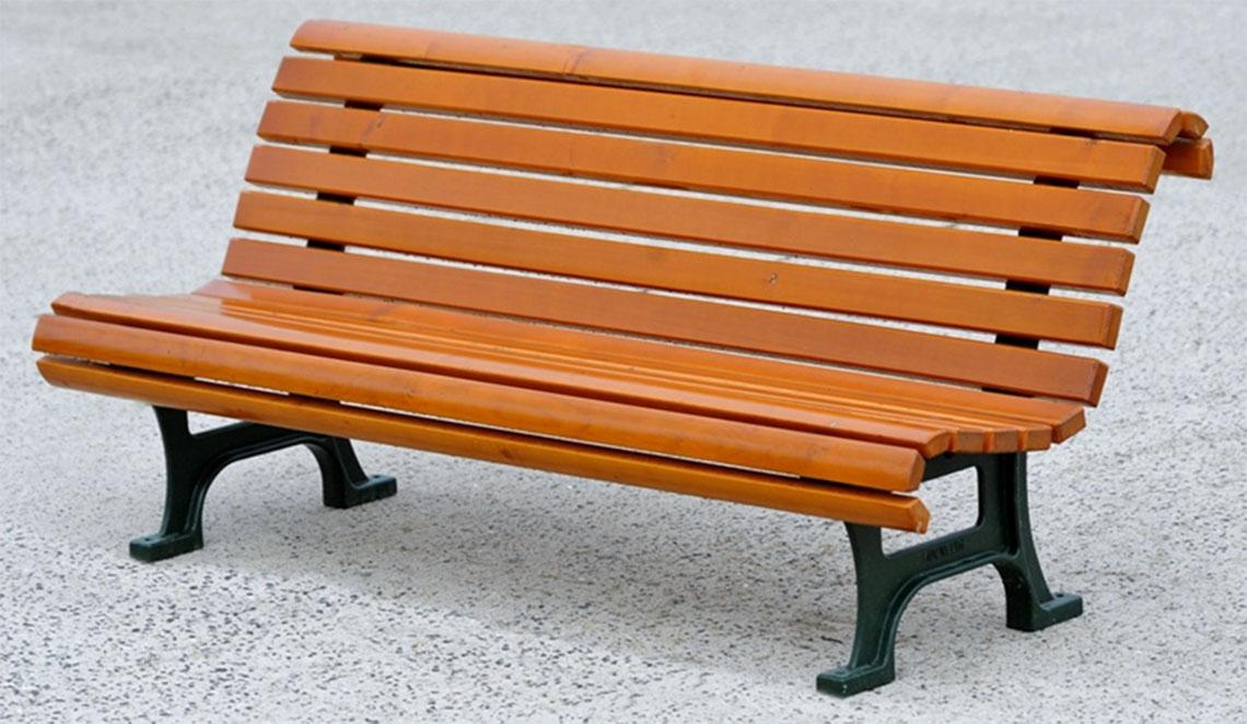 Výroba odpočinkových laviček s opěradlem nebo bez