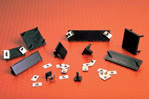 Konstrukční díly pro elektroniku - široká nabídka