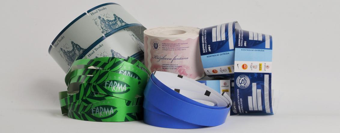 Samolepicí štítky, visačky, etikety - Zebra s.r.o. Velim