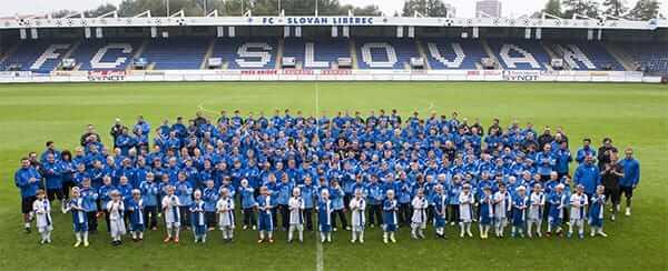 Fotbalový klub FC Slovan Liberec, prvoligový tým, výchova mladých fotbalistů