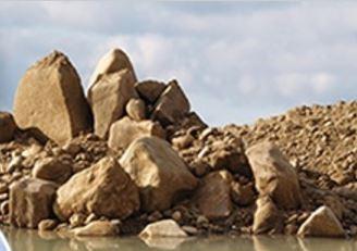 Ukládka stavebních odpadů – na pískovně Selibice