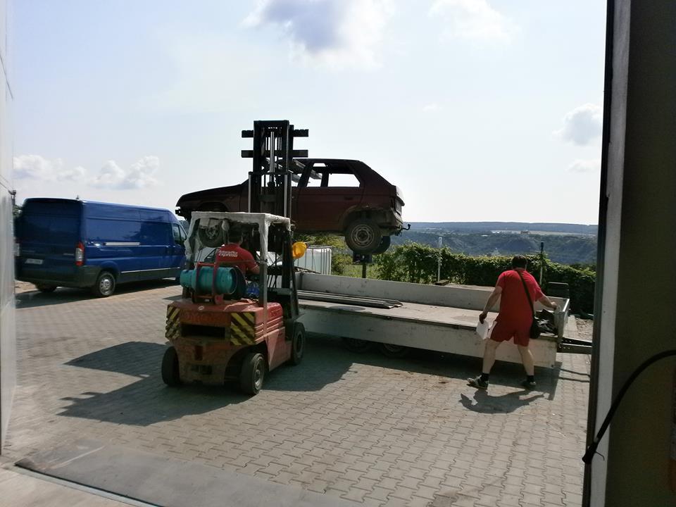Ekologická likvidace nepojízdných vozů Znojmo