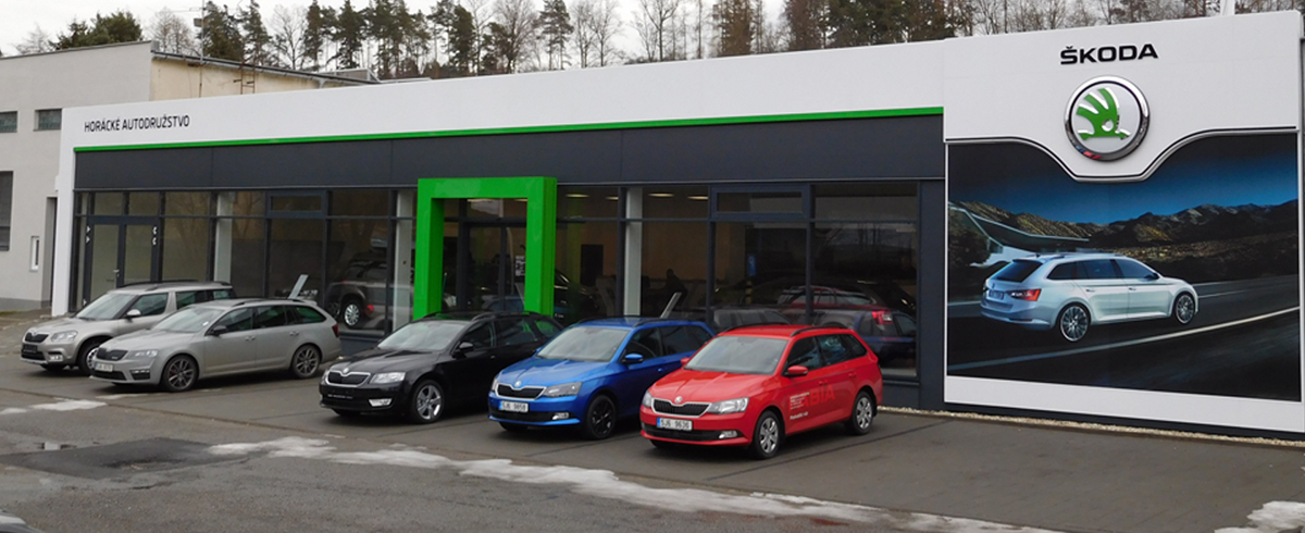 Prodej nových i ojetých vozů Škoda Třebíč