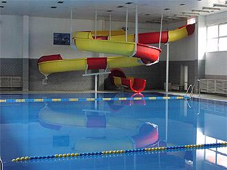Krytý bazén, posilovna, výuka plavání, solárium Holešov