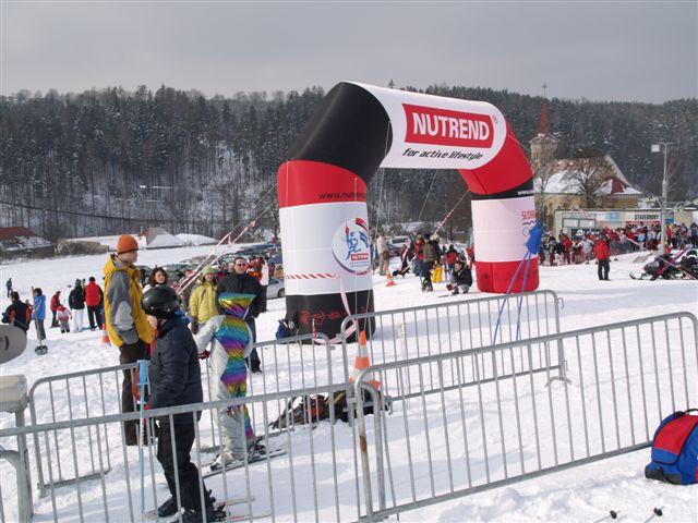 Lyžování, ski areál Hlubočky