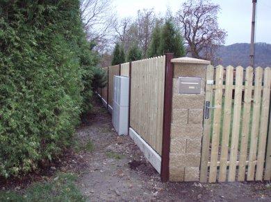 Dřevěné ploty Česká lípa dřevěné oplocení Liberec plotové tyčky
