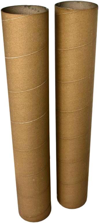 Papírové tubusy a dutinky včetně plastových víček na všechny rozměry