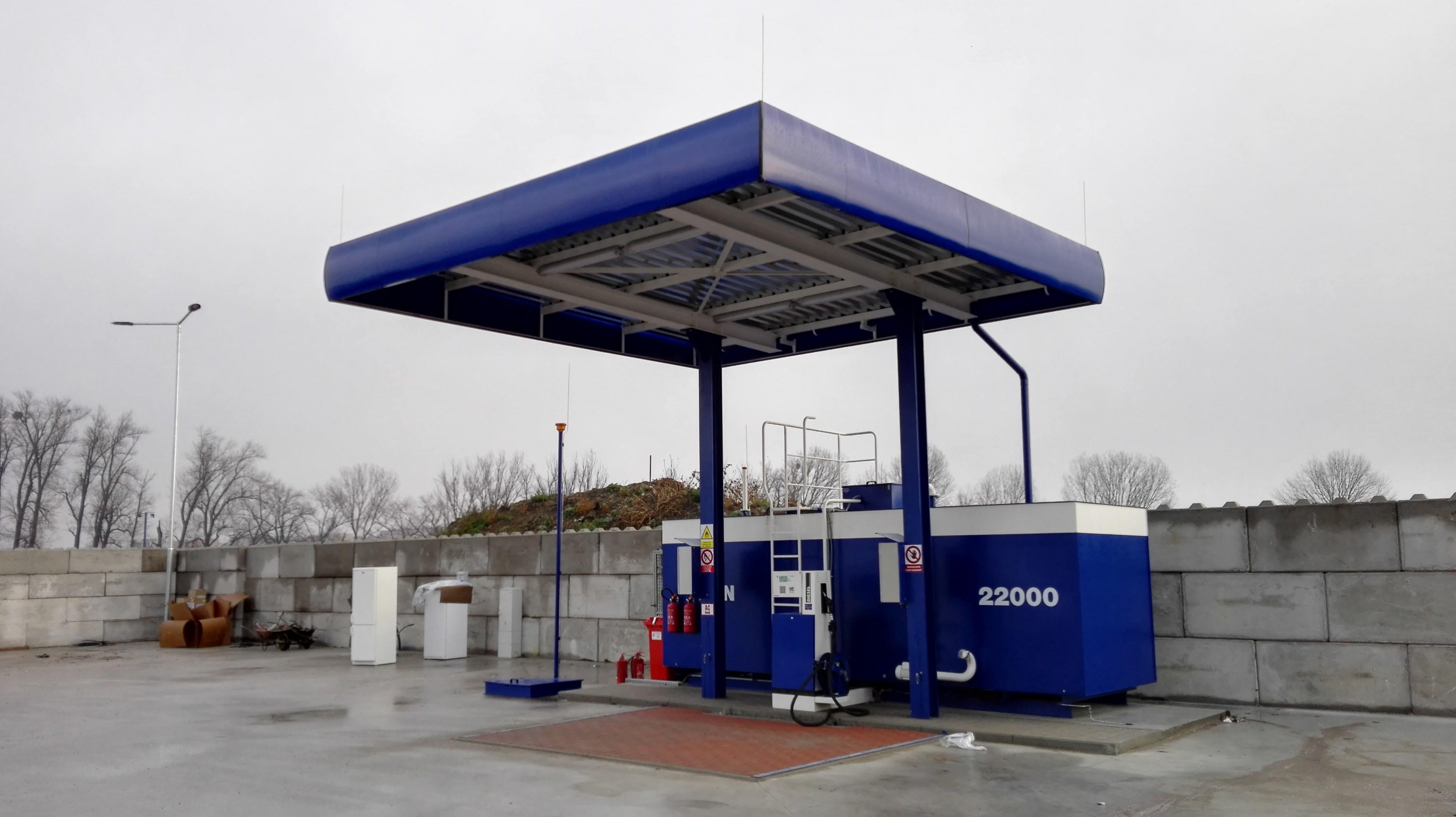 Inovace platebních terminálů pro čerpací stanice Znojmo