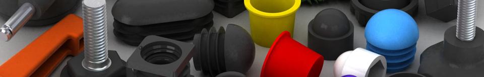 Plastové součásti pro nábytek, strojírenství a elektroniku