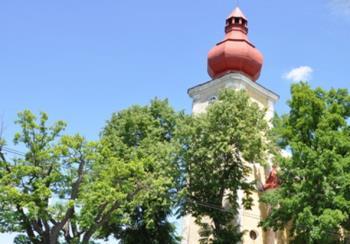 Obec Částkov, Maršovy Chody a Pernolec, kostel sv. Anny, zámek, Velká pouť