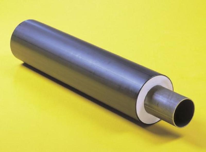 Předizolované potrubí trubky  tvarovky armatury spojky.