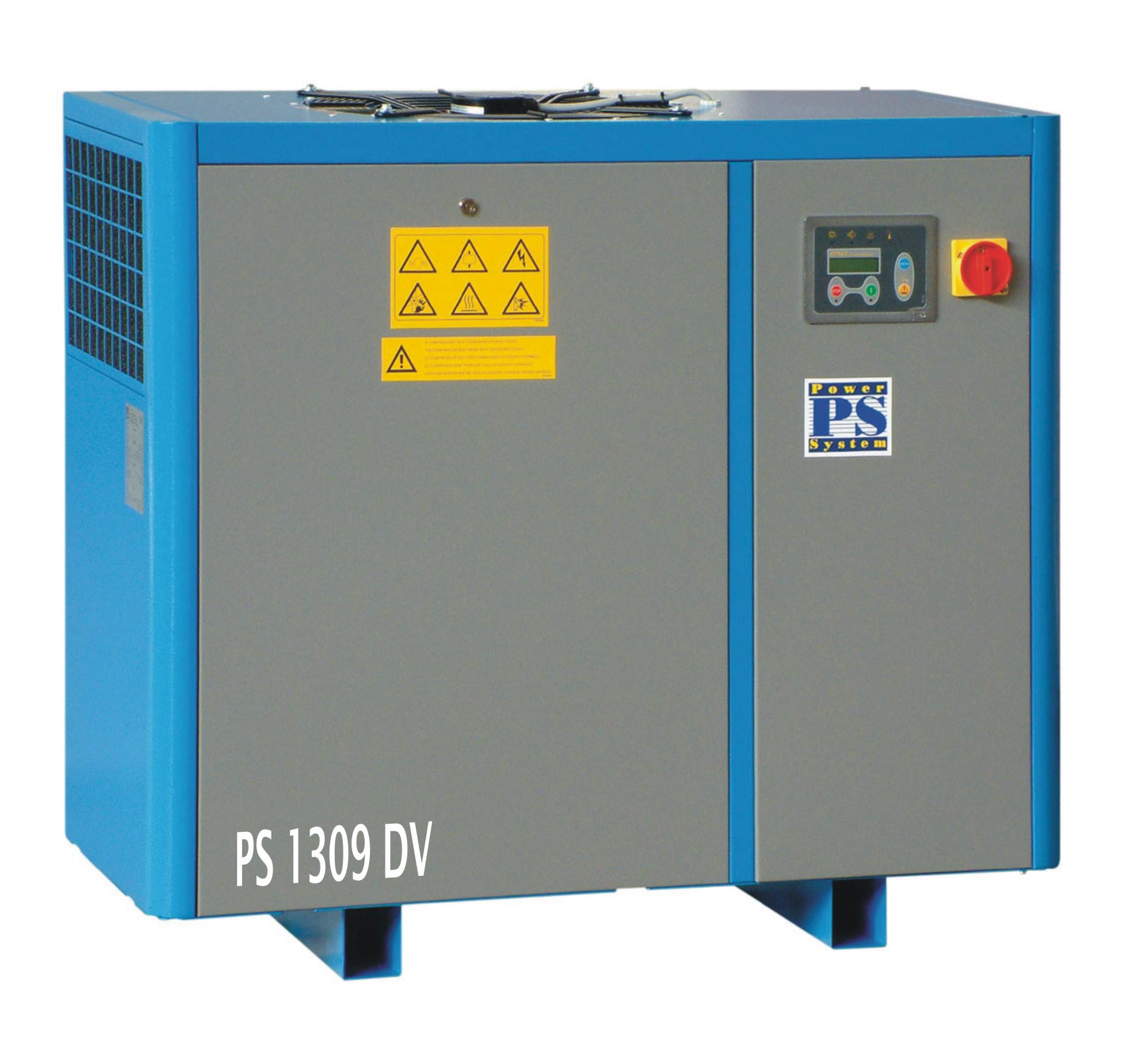 Šroubové kompresory s plynulou regulací série PS DV-PM