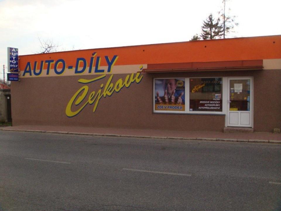 Maloobchod Auto-díly Čejková