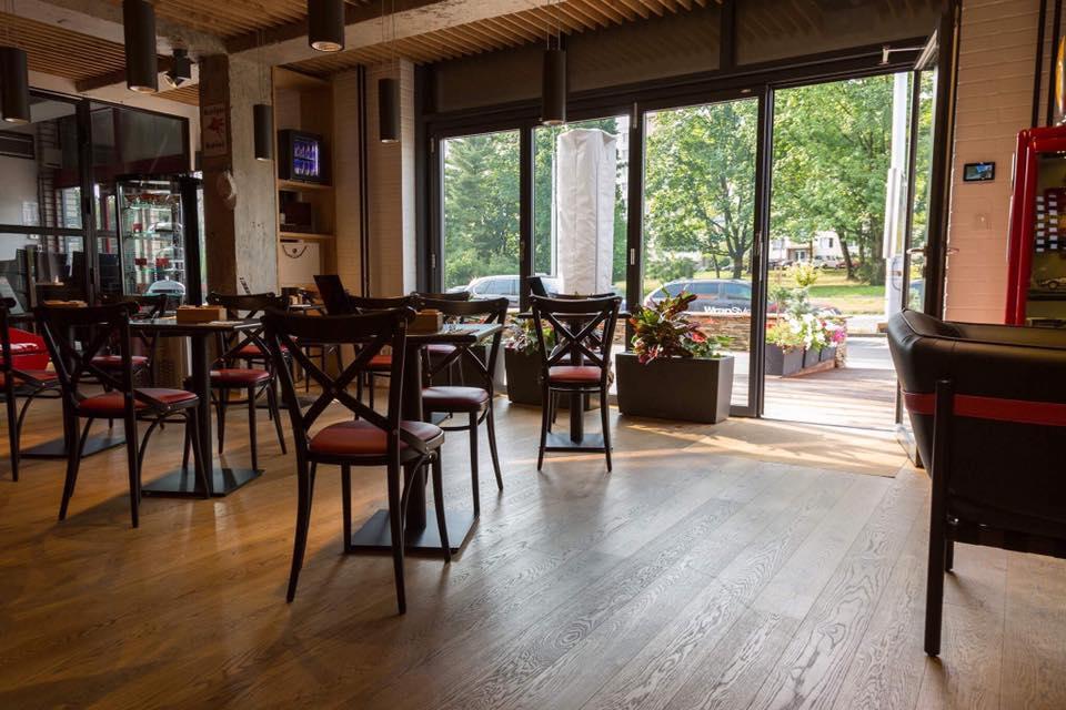 klimatizovaná kavárna Lusso Caffe Zlín