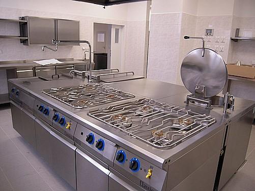 Technologie pro gastrozařízení, chladicí a mrazicí boxy, varná technika
