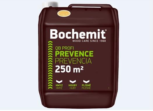 Přípravky BOCHEMIT vám zaručí profesionální a dlouhodobou ochranu dřeva proti houbám, hmyzu i plísním