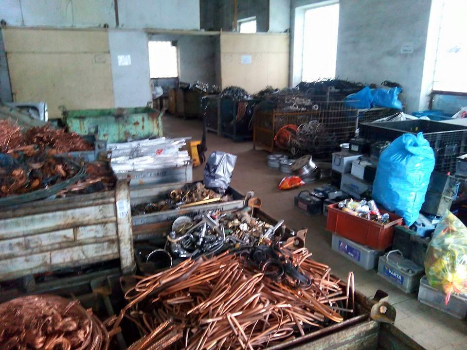 Výkup barevných kovů a železného šrotu Znojmo