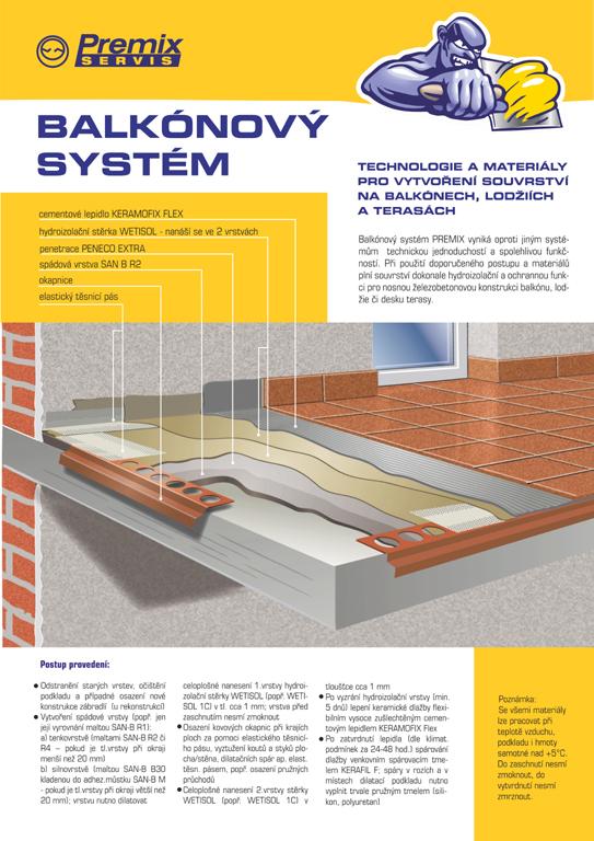 Balkonový systém