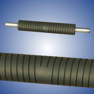 Rozciągliwerowkowane gumowane rolki do rozprowadzania materiału - produkcja, Czechy