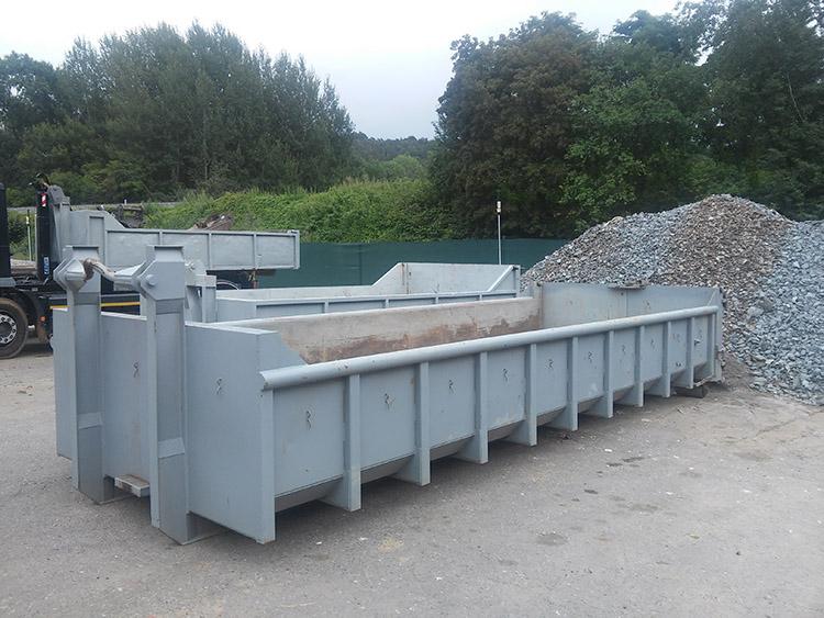Odvoz odpadu, přeprava sypkých materiálů