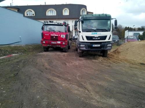 Prodej a dovoz písku a kameniva se zajištěnou dopravou