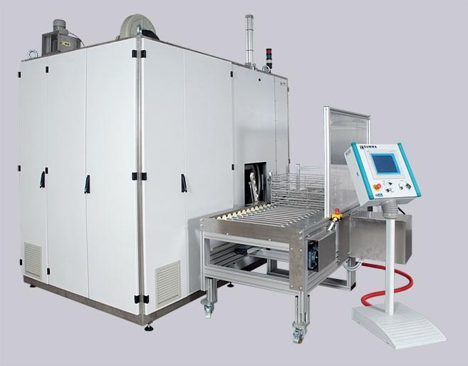 Ultraschallgeräte für anspruchsvolle industrielle Entfettung und Reinigung von Teilen, Produktion die Tschechische Republik