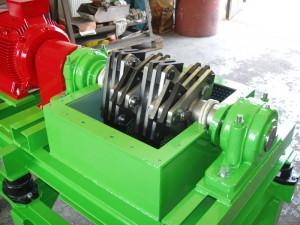 Spolehlivé horizontální šrotovníky pro drcení a rozmělňování surovin