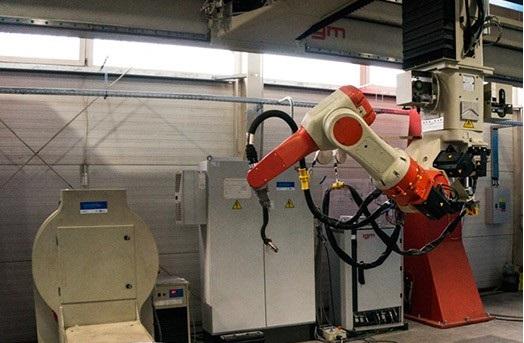 Robotické CNC svařování konstrukcí