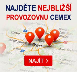 CEMEX Czech Republic s.r.o. - široká síť po celé ČR