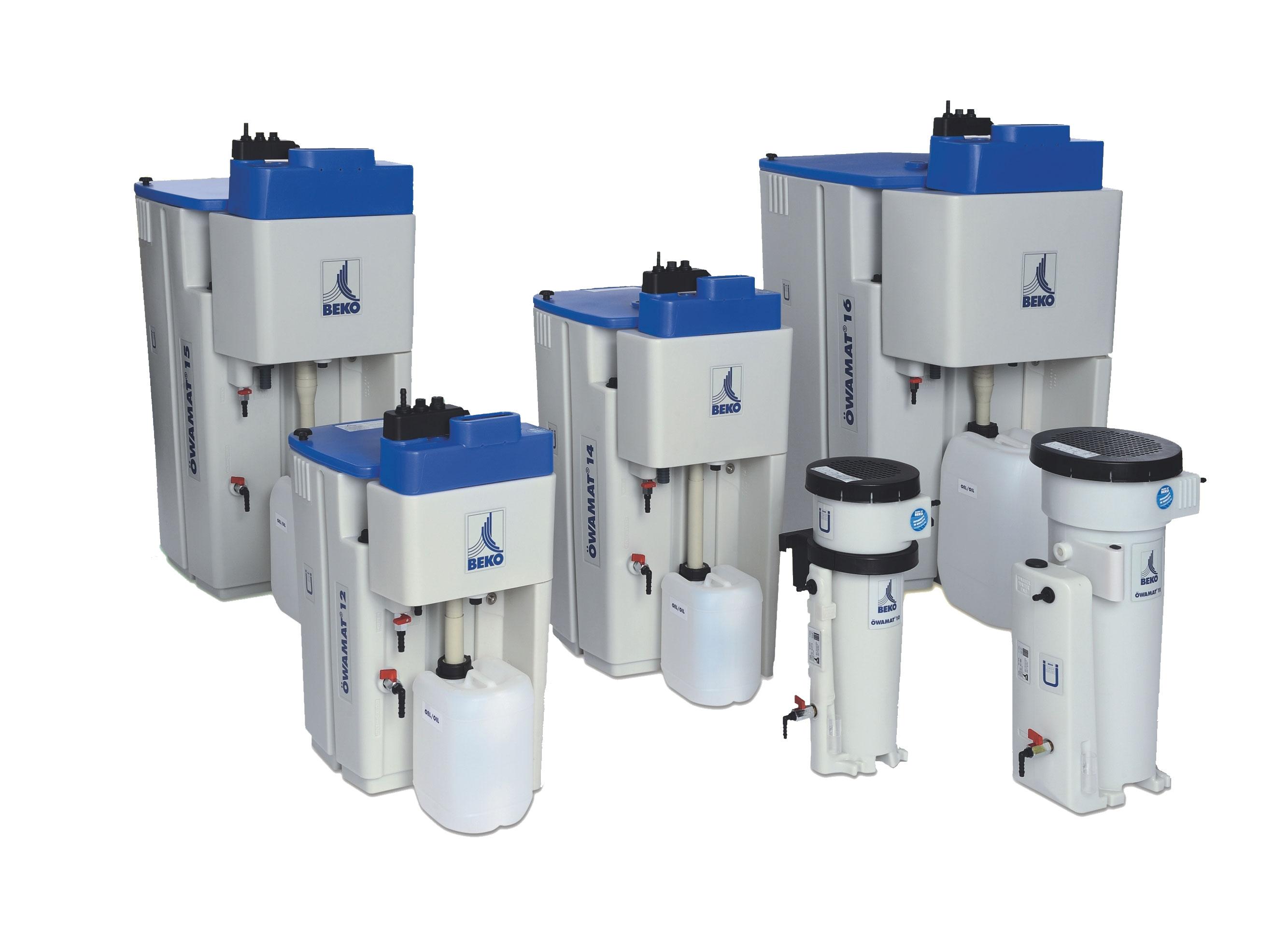 Sběrné separační nádoby kondenzátu