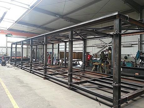 Výroba ocelových konstrukcí, obrábění kovů, NESPREKOL s.r.o.