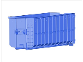 Půjčovna prodej natahovací otevřené uzavřené kontejnery Hradec
