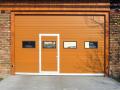 Prodej rychloběžná panelová průmyslová rámová sekční vrata Hradec