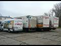 Doprava a stěhování Tomáš Hrnčiřík, autodoprava, přeprava palatového zboží