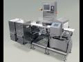 Kontrolní váhy s detektorem kovů Praha – komplexní inspekční systém vyřazení kontaminovaného zboží