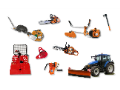 Zahradní technika, zemědělská technika, štípačka dřeva Opava