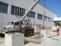 Zámková dlažba rekonstrukce průmyslové betonové haly Vysoké Mýto